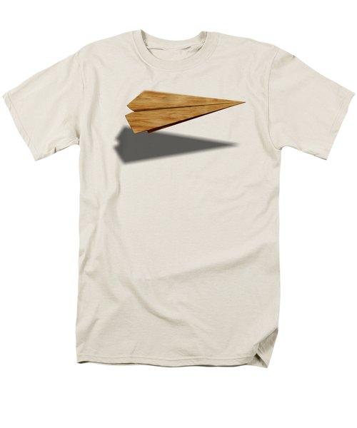 Paper Airplanes Of Wood 9 Men's T-Shirt  (Regular Fit)