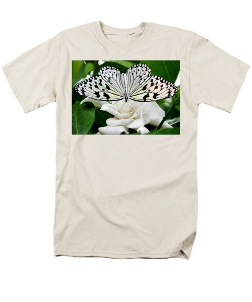 Paperkite On Gardenia Men's T-Shirt  (Regular Fit) by Kristin Elmquist