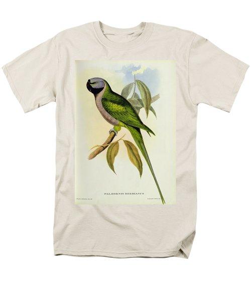Parakeet Men's T-Shirt  (Regular Fit) by John Gould