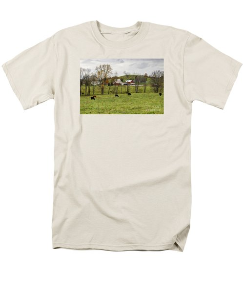 Men's T-Shirt  (Regular Fit) featuring the photograph Pastoral by Larry Ricker