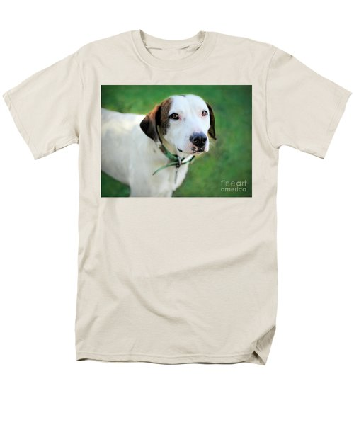 Men's T-Shirt  (Regular Fit) featuring the photograph ''patch'' by Marion Johnson
