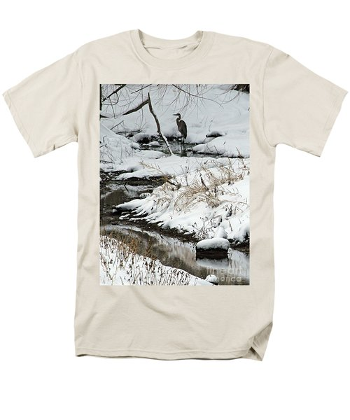 Patiently Waiting 1 Men's T-Shirt  (Regular Fit) by Paula Guttilla