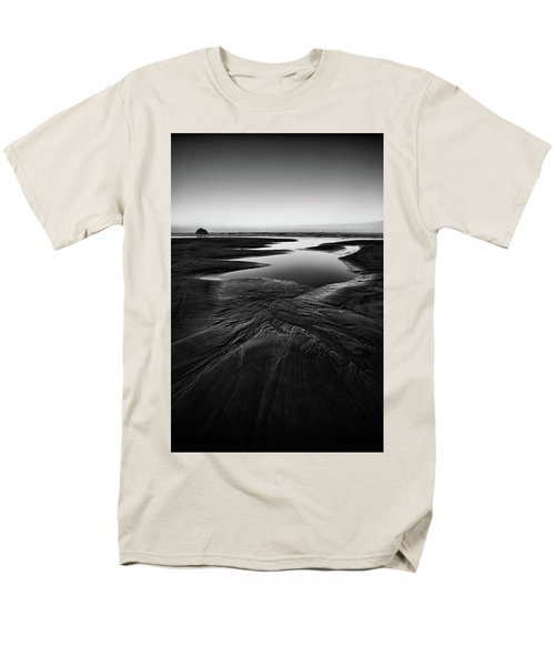 Men's T-Shirt  (Regular Fit) featuring the photograph Patterns In The Sand by Jon Glaser