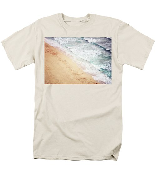 Men's T-Shirt  (Regular Fit) featuring the photograph Pedn Vounder by Lyn Randle