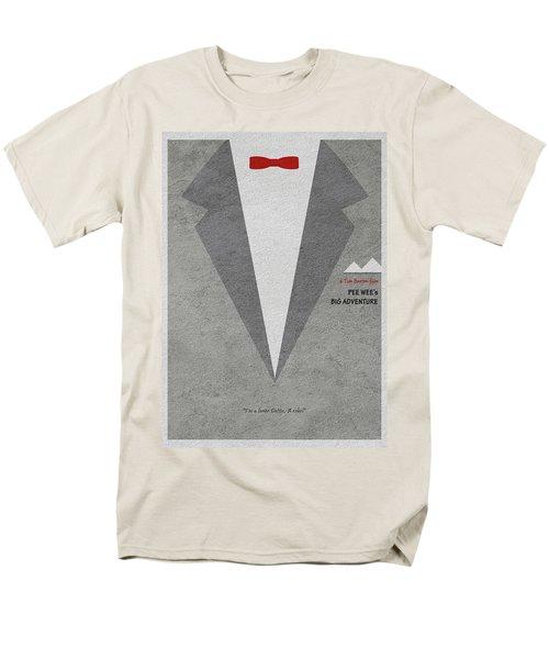 Men's T-Shirt  (Regular Fit) featuring the digital art Pee-wee's Big Adventure by Ayse Deniz