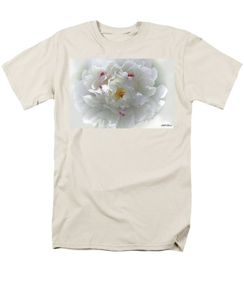Peony Men's T-Shirt  (Regular Fit) by Bonnie Willis