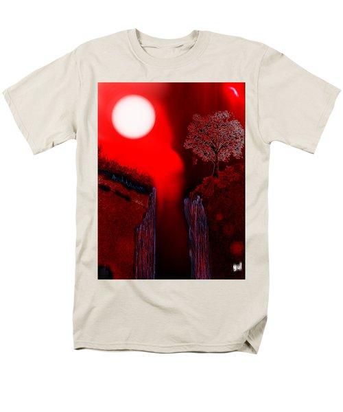Perigee Moon 2 Men's T-Shirt  (Regular Fit) by Yul Olaivar