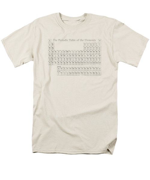 Periodic Table Of The Elements Men's T-Shirt  (Regular Fit) by Design Turnpike