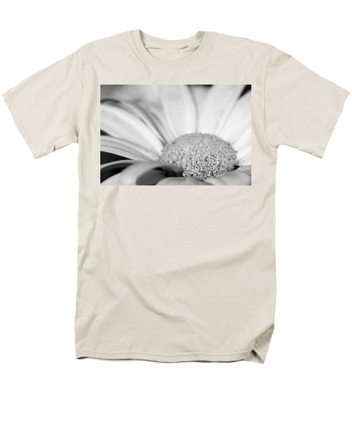 Men's T-Shirt  (Regular Fit) featuring the photograph Petals - Black And White by Angela Rath