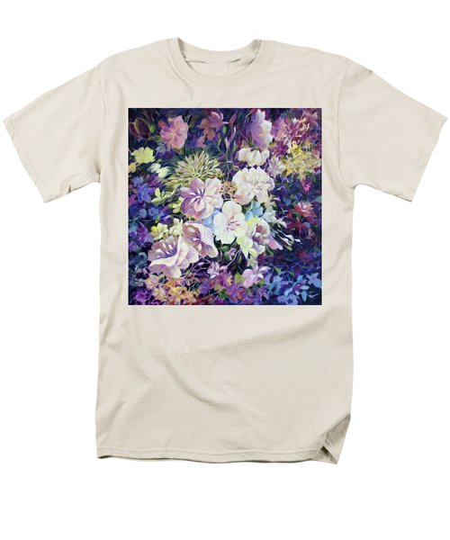 Men's T-Shirt  (Regular Fit) featuring the painting Petals by Joanne Smoley