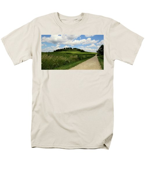 Men's T-Shirt  (Regular Fit) featuring the photograph Pheasant Branch Hill by Kimberly Mackowski