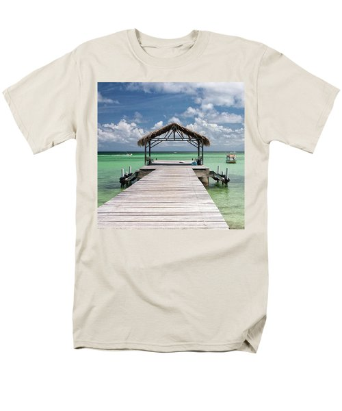 Pigeon Point, Tobago#pigeonpoint Men's T-Shirt  (Regular Fit) by John Edwards