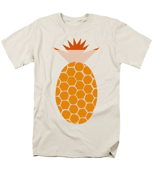 Men's T-Shirt  (Regular Fit) featuring the painting Pineapple by Frank Tschakert
