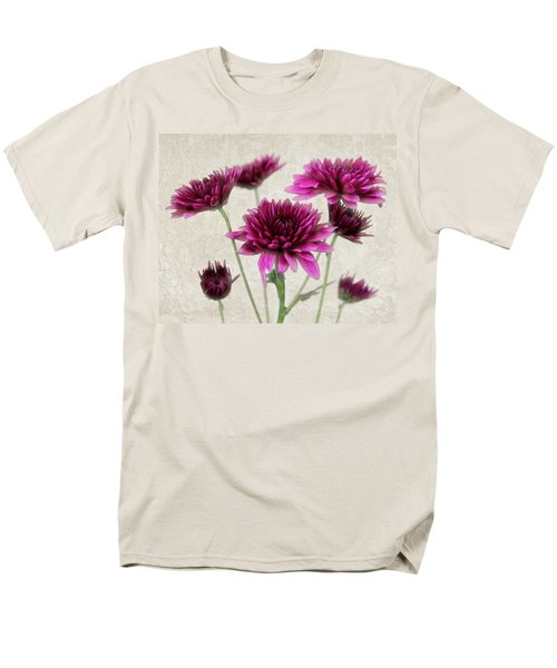 Pink Bouquet Men's T-Shirt  (Regular Fit) by Judy Vincent