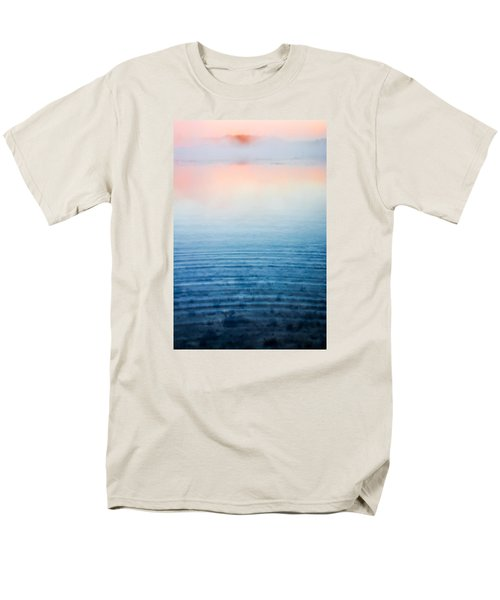 Pink Fog At Sunrise Men's T-Shirt  (Regular Fit) by Shelby  Young