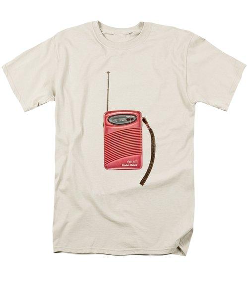 Pink Radio Men's T-Shirt  (Regular Fit)