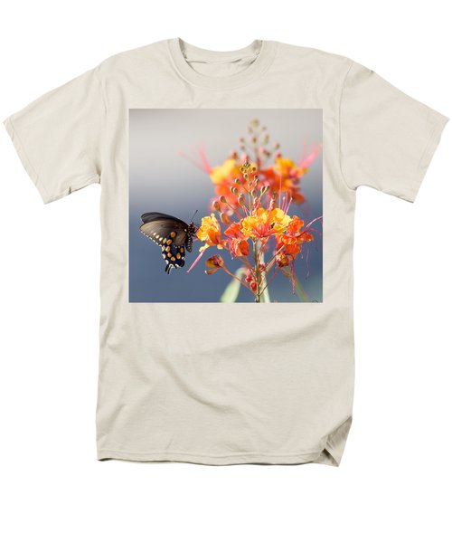 Men's T-Shirt  (Regular Fit) featuring the photograph Pipevine Swallowtail by Dan McManus