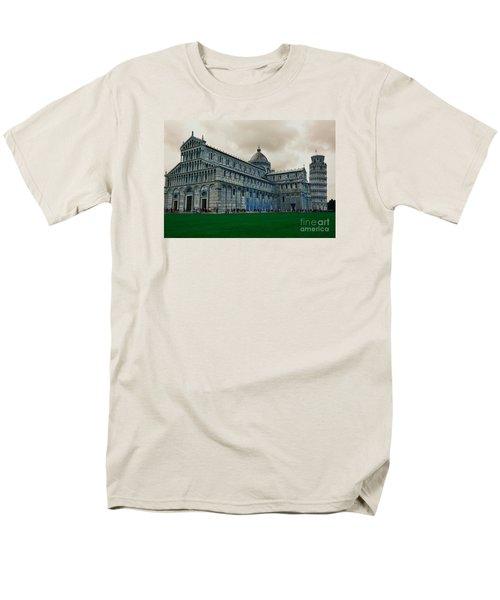Pisa Men's T-Shirt  (Regular Fit) by Ramona Matei