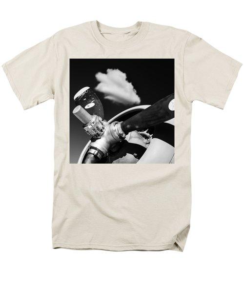 Men's T-Shirt  (Regular Fit) featuring the photograph Plane Portrait 2 by Ryan Weddle