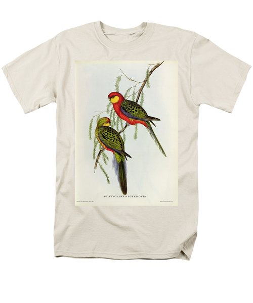 Platycercus Icterotis Men's T-Shirt  (Regular Fit) by John Gould