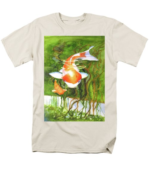 Play Koi With Me Men's T-Shirt  (Regular Fit) by Bonnie Rinier