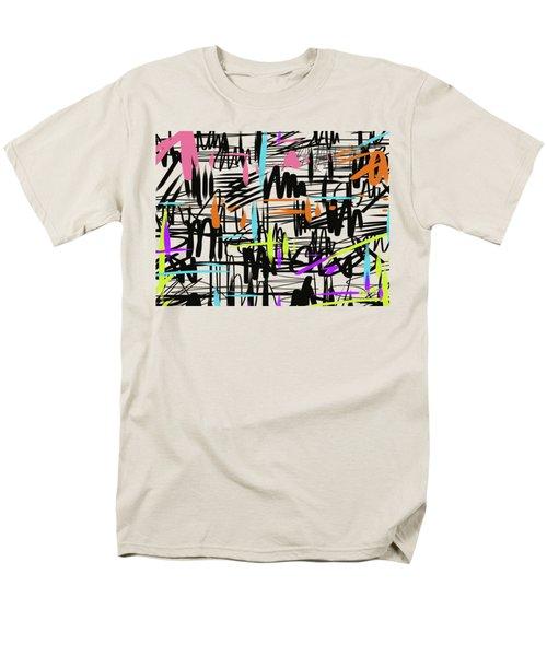 Playful Scribbles Men's T-Shirt  (Regular Fit) by Go Van Kampen