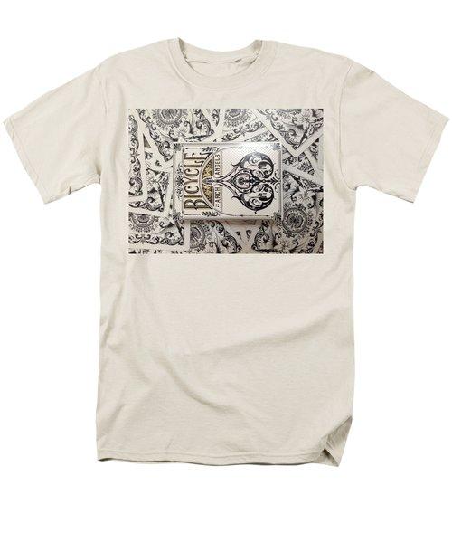 Playing Cards Men's T-Shirt  (Regular Fit) by Sheila Mcdonald