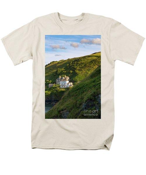 Men's T-Shirt  (Regular Fit) featuring the photograph Port Isaac Homes by Brian Jannsen