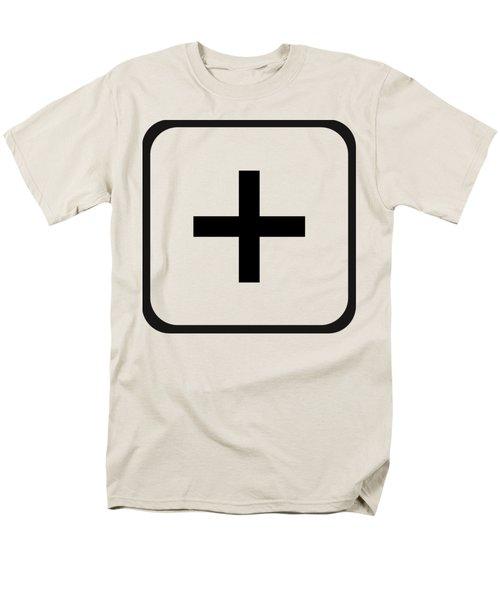 Men's T-Shirt  (Regular Fit) featuring the digital art Positive Art by Robert G Kernodle