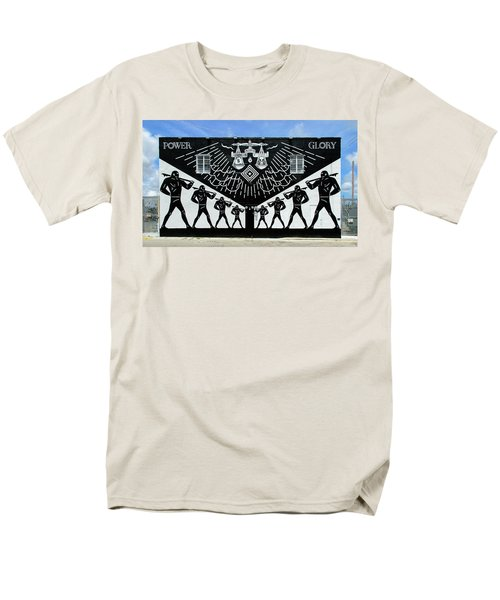 Power And Glory Men's T-Shirt  (Regular Fit) by Keith Armstrong