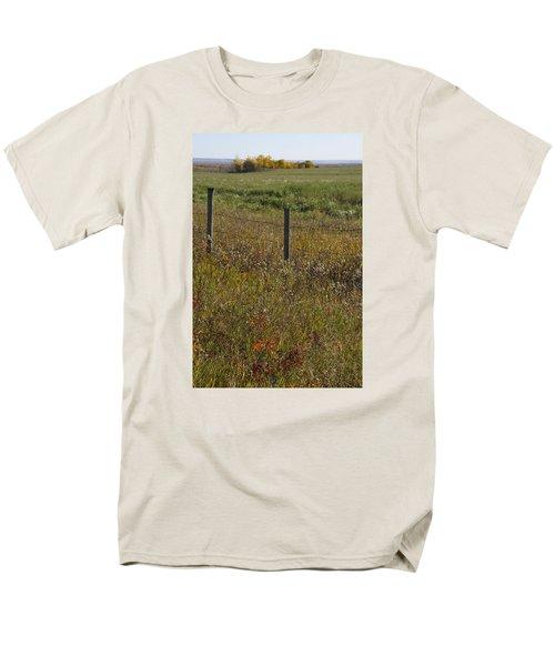 Prairie Autumn Men's T-Shirt  (Regular Fit) by Ellery Russell