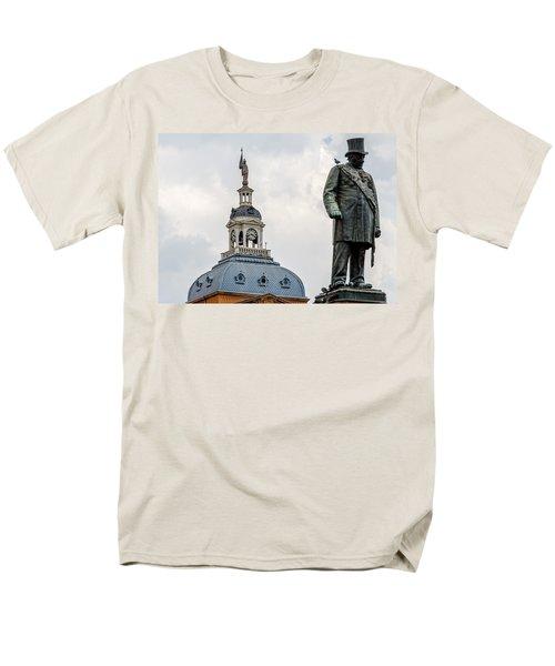 Men's T-Shirt  (Regular Fit) featuring the photograph Pretoria Church Square by Steven Richman