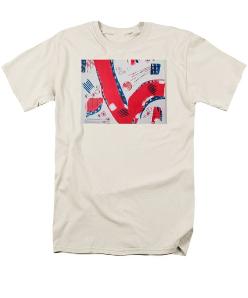 Pride - Glory - The Patriots Men's T-Shirt  (Regular Fit) by Sharyn Winters
