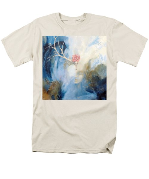Men's T-Shirt  (Regular Fit) featuring the painting Priestess by Dina Dargo