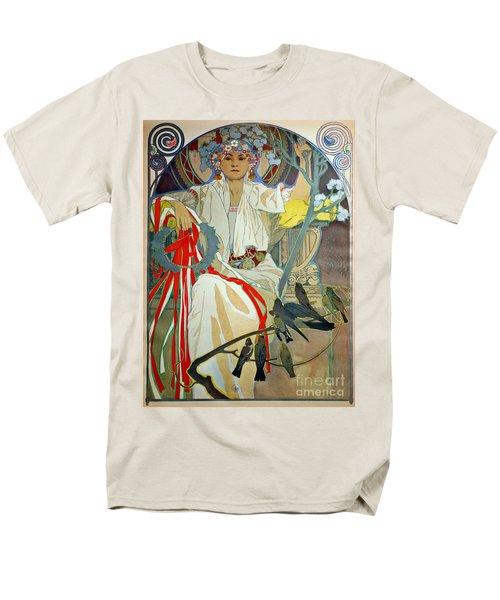 Men's T-Shirt  (Regular Fit) featuring the photograph Primavera 1914 by Padre Art