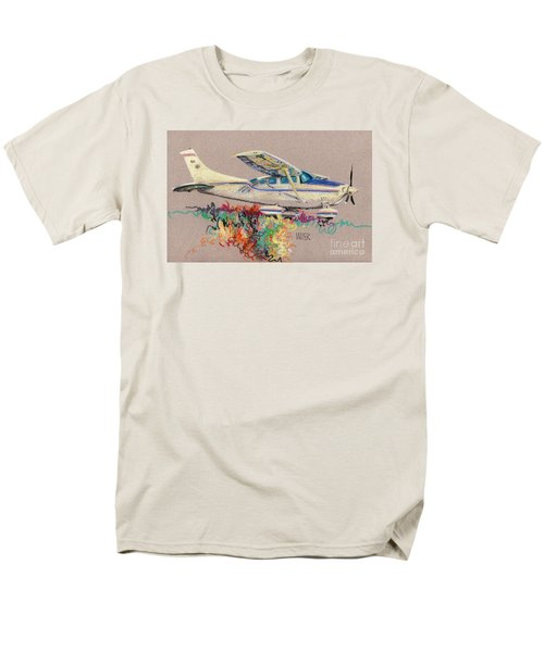 Private Plane Men's T-Shirt  (Regular Fit) by Donald Maier