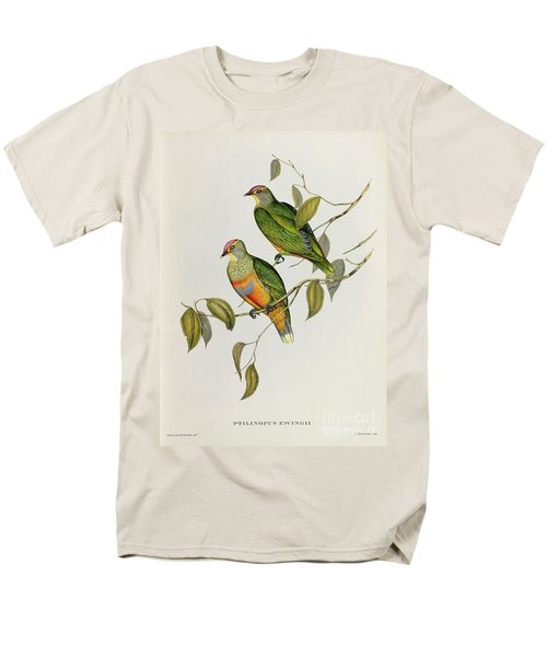 Ptilinopus Ewingii Men's T-Shirt  (Regular Fit) by John Gould