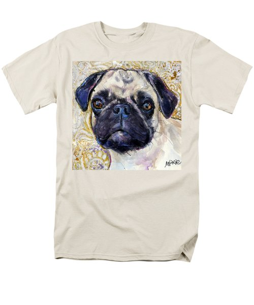 Pug Mug Men's T-Shirt  (Regular Fit) by Molly Poole