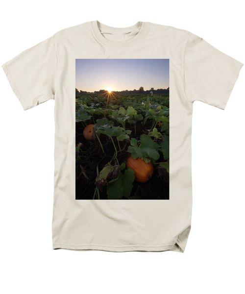 Men's T-Shirt  (Regular Fit) featuring the photograph Pumpkin Patch by Aaron J Groen
