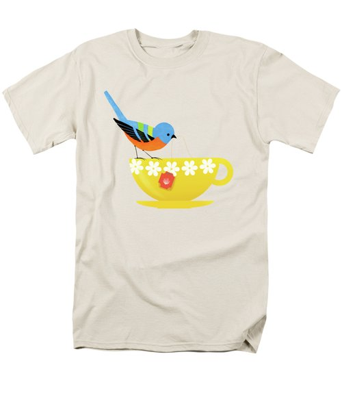 Put The Kettle On Men's T-Shirt  (Regular Fit) by Little Bunny Sunshine
