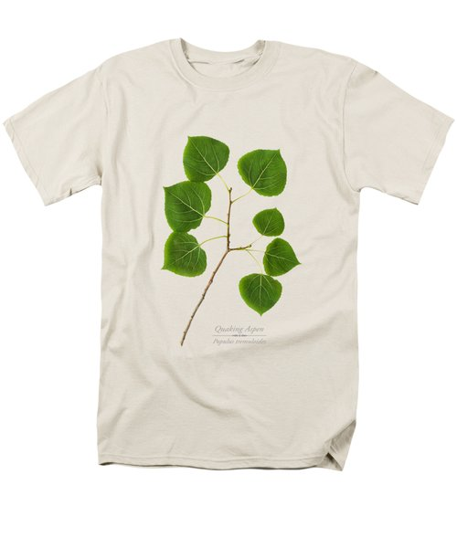 Men's T-Shirt  (Regular Fit) featuring the photograph Quaking Aspen by Christina Rollo