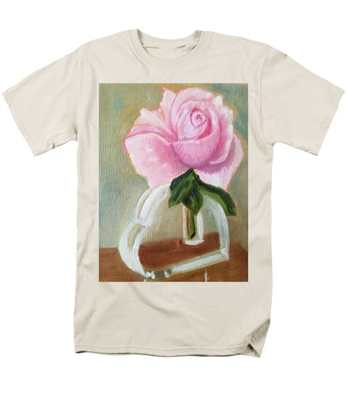 Men's T-Shirt  (Regular Fit) featuring the painting Queen Elizabeth by Sharon Schultz