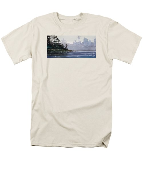 Quiet Shore Men's T-Shirt  (Regular Fit) by James Williamson