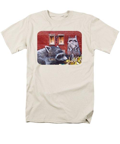 Raccoons Men's T-Shirt  (Regular Fit)