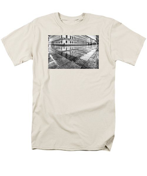 Men's T-Shirt  (Regular Fit) featuring the photograph Rainy Day by Jivko Nakev