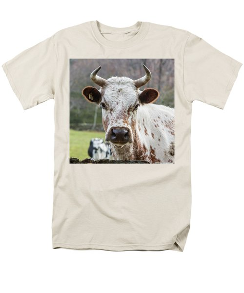 Men's T-Shirt  (Regular Fit) featuring the photograph Randall Cow by Bill Wakeley