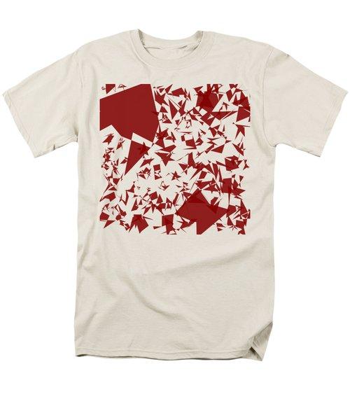 Random Shreds Men's T-Shirt  (Regular Fit) by Keshava Shukla