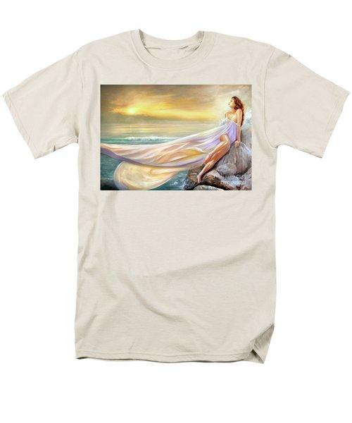 Rapture In Midst Of The Sea Men's T-Shirt  (Regular Fit)