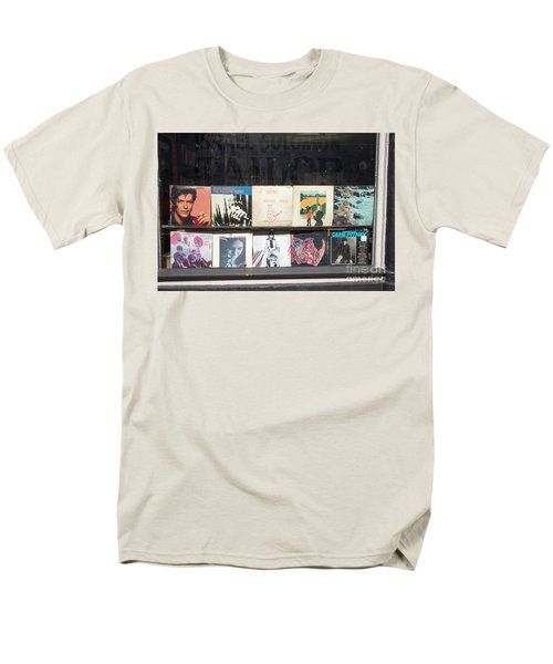 Record Store Burlington Vermont Men's T-Shirt  (Regular Fit) by Edward Fielding