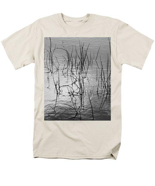 Reeds Men's T-Shirt  (Regular Fit) by Art Shimamura